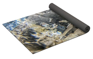 Crystals And Stones Clear Quartz 0114 - Yoga Mat - Jani Bryson Intuitive Photographer
