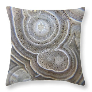 Crystals And Stones Crazy Lace Agate 0992 - Throw Pillow - Jani Bryson Intuitive Photographer