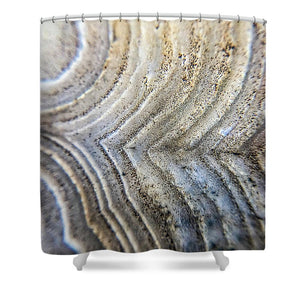 Crystals And Stones Crazy Lace Agate 1001 - Shower Curtain - Jani Bryson Intuitive Photographer