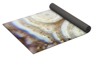 Crystals And Stones Crazy Lace Agate 1018 - Yoga Mat - Jani Bryson Intuitive Photographer