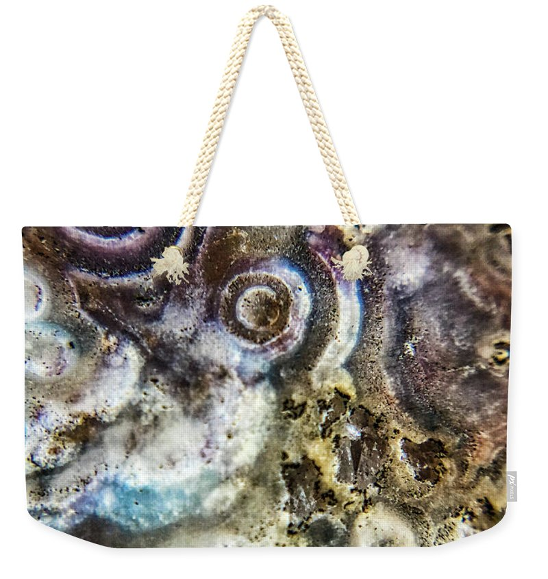 Crystals And Stones Crazy Lace Agate 1034 - Weekender Tote Bag