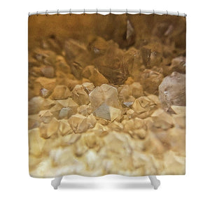 Crystals And Stones Fairy Wand Quartz 5995  - Shower Curtain
