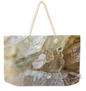 Crystals And Stones Fairy Wand Quartz 9775 - Weekender Tote Bag - Jani Bryson Intuitive Photographer
