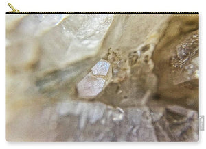 Crystals And Stones Fairy Wand Quartz 9775 - Carry-All Pouch - Jani Bryson Intuitive Photographer
