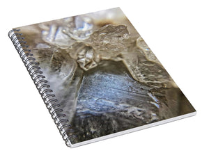 Crystals And Stones Fairy Wand Quartz 9819 - Spiral Notebook - Jani Bryson Intuitive Photographer
