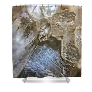Crystals And Stones Fairy Wand Quartz 9819 - Shower Curtain - Jani Bryson Intuitive Photographer