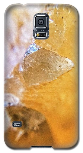 Crystals And Stones Honey Calcite 2162 - Phone Case