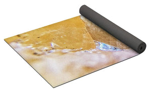 Crystals And Stones Honey Calcite 2162 - Yoga Mat