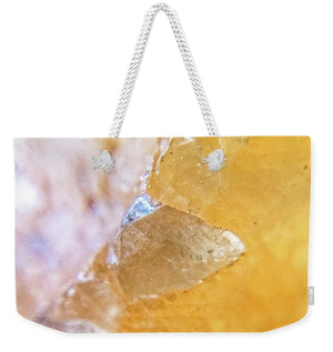 Crystals And Stones Honey Calcite 2162 - Weekender Tote Bag