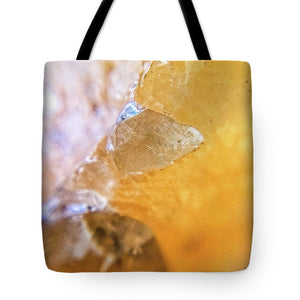 Crystals And Stones Honey Calcite 2162 - Tote Bag