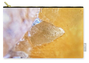 Crystals And Stones Honey Calcite 2162 - Carry-All Pouch
