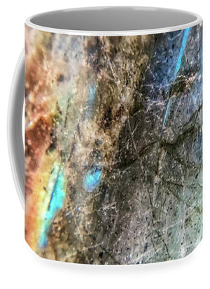 Crystals And Stones Labradorite 8041 - Mug - Jani Bryson Intuitive Photographer