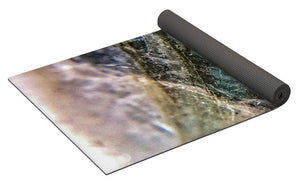 Crystals And Stones Labradorite 8058 - Yoga Mat - Jani Bryson Intuitive Photographer