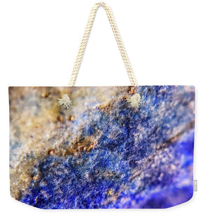 Crystals And Stones Lapis Lazuli 8549 - Weekender Tote Bag - Jani Bryson Intuitive Photographer
