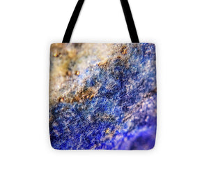 Crystals And Stones Lapis Lazuli 8549 - Tote Bag - Jani Bryson Intuitive Photographer