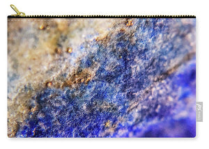 Crystals And Stones Lapis Lazuli 8549 - Carry-All Pouch - Jani Bryson Intuitive Photographer