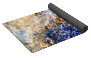 Crystals And Stones Lapis Lazuli 8549 - Yoga Mat - Jani Bryson Intuitive Photographer