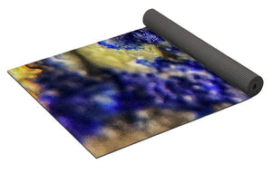 Crystals And Stones Lapis Lazuli 8572 - Yoga Mat - Jani Bryson Intuitive Photographer