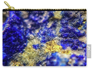 Crystals And Stones Lapis Lazuli 8572 - Carry-All Pouch - Jani Bryson Intuitive Photographer