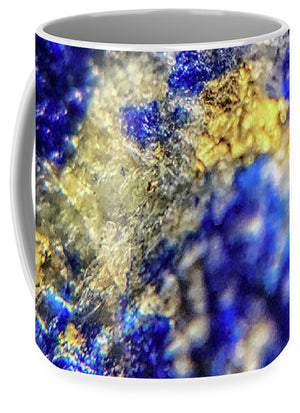 Crystals And Stones Lapis Lazuli 8572 - Mug - Jani Bryson Intuitive Photographer