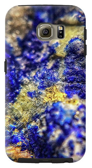 Crystals And Stones Lapis Lazuli 8572 - Phone Case - Jani Bryson Intuitive Photographer