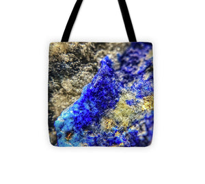 Crystals And Stones Lapis Lazuli 8573 - Tote Bag