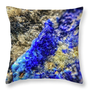 Crystals And Stones Lapis Lazuli 8573 - Throw Pillow
