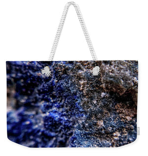 Crystals And Stones Lapis Lazuli 8583 - Weekender Tote Bag - Jani Bryson Intuitive Photographer