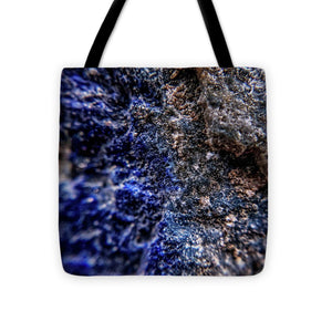 Crystals And Stones Lapis Lazuli 8583 - Tote Bag - Jani Bryson Intuitive Photographer