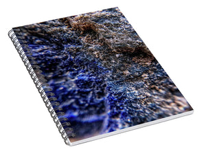 Crystals And Stones Lapis Lazuli 8583 - Spiral Notebook - Jani Bryson Intuitive Photographer