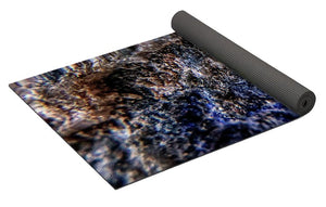 Crystals And Stones Lapis Lazuli 8583 - Yoga Mat - Jani Bryson Intuitive Photographer