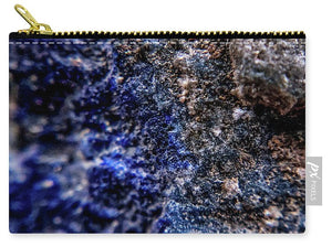 Crystals And Stones Lapis Lazuli 8583 - Carry-All Pouch - Jani Bryson Intuitive Photographer