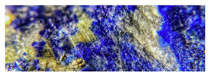 Crystals And Stones Lapis Lazuli 8625 - Yoga Mat - Jani Bryson Intuitive Photographer