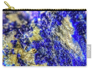 Crystals And Stones Lapis Lazuli 8625 - Carry-All Pouch - Jani Bryson Intuitive Photographer