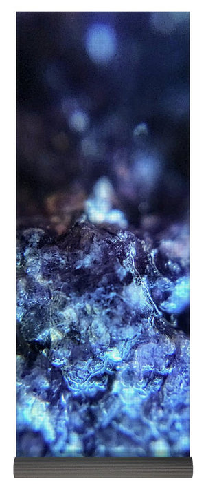 Crystals And Stones Lepidolite 8990 - Yoga Mat - Jani Bryson Intuitive Photographer