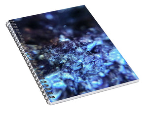 Crystals And Stones Lepidolite 8990 - Spiral Notebook - Jani Bryson Intuitive Photographer