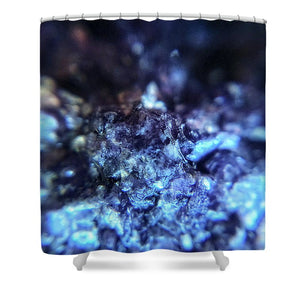 Crystals And Stones Lepidolite 8990 - Shower Curtain - Jani Bryson Intuitive Photographer