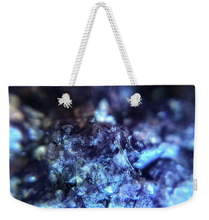 Crystals And Stones Lepidolite 8990 - Weekender Tote Bag - Jani Bryson Intuitive Photographer