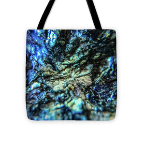 Crystals And Stones Lepidolite 8997 - Tote Bag - Jani Bryson Intuitive Photographer