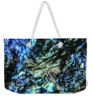 Crystals And Stones Lepidolite 8997 - Weekender Tote Bag - Jani Bryson Intuitive Photographer