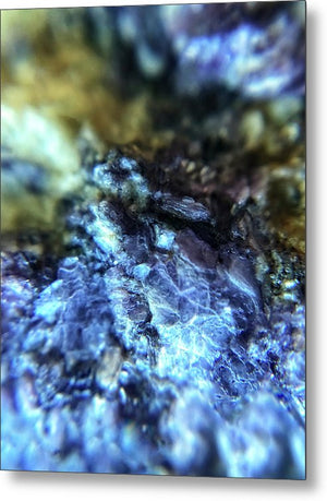 Crystals And Stones Lepidolite 9003 - Metal Print