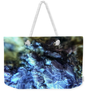 Crystals And Stones Lepidolite 9003 - Weekender Tote Bag - Jani Bryson Intuitive Photographer