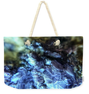 Crystals And Stones Lepidolite 9003 - Weekender Tote Bag