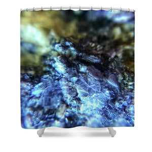 Crystals And Stones Lepidolite 9003 - Shower Curtain - Jani Bryson Intuitive Photographer