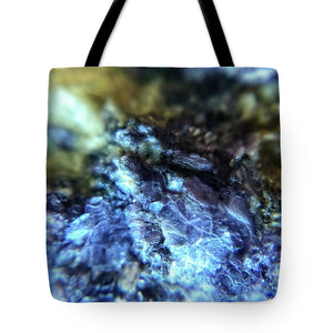 Crystals And Stones Lepidolite 9003 - Tote Bag - Jani Bryson Intuitive Photographer