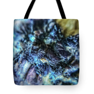 Crystals And Stones Lepidolite 9018 - Tote Bag - Jani Bryson Intuitive Photographer