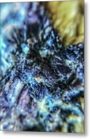 Crystals And Stones Lepidolite 9018 - Metal Print - Jani Bryson Intuitive Photographer