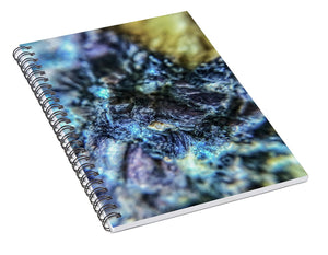 Crystals And Stones Lepidolite 9018 - Spiral Notebook - Jani Bryson Intuitive Photographer