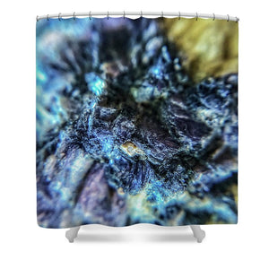 Crystals And Stones Lepidolite 9018 - Shower Curtain - Jani Bryson Intuitive Photographer