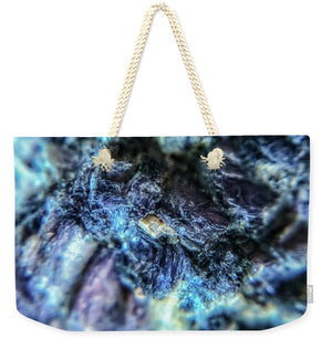 Crystals And Stones Lepidolite 9018 - Weekender Tote Bag - Jani Bryson Intuitive Photographer